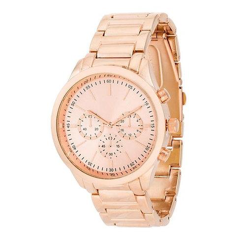 Chrono Rose Gold Watch