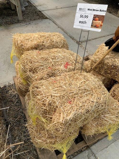 Straw Bale Mini