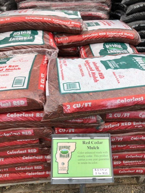 Red Cedar Colorlast Mulch