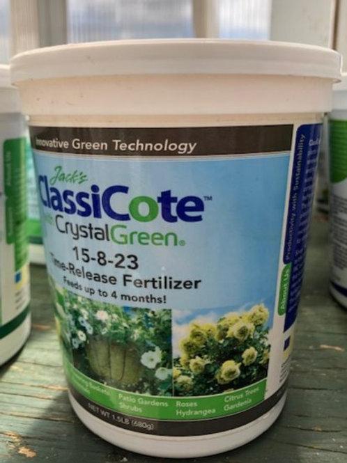 Jack's Classicote Slow Release Fertilizer