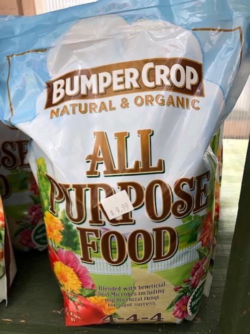 Bumper Crop All Purpose Plant Food 4lb.