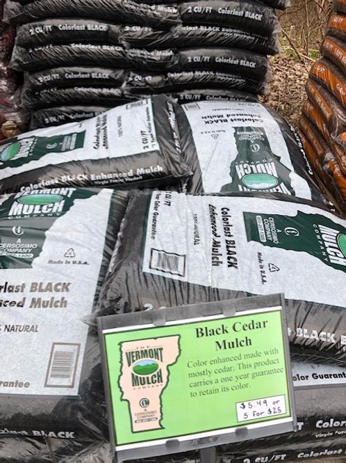 Black Cedar Colorlast Mulch