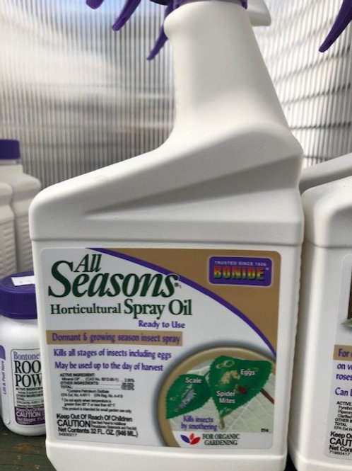 All Seasons Spray Oil