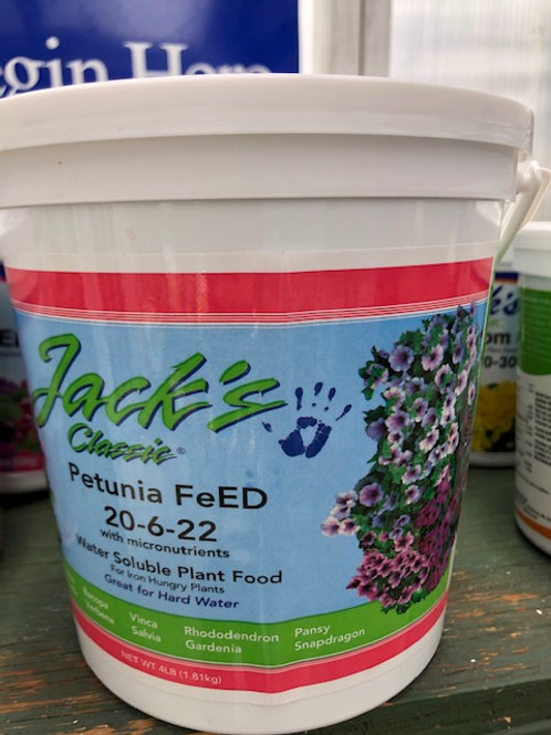 Jack's Petunia Feed Fertilizer