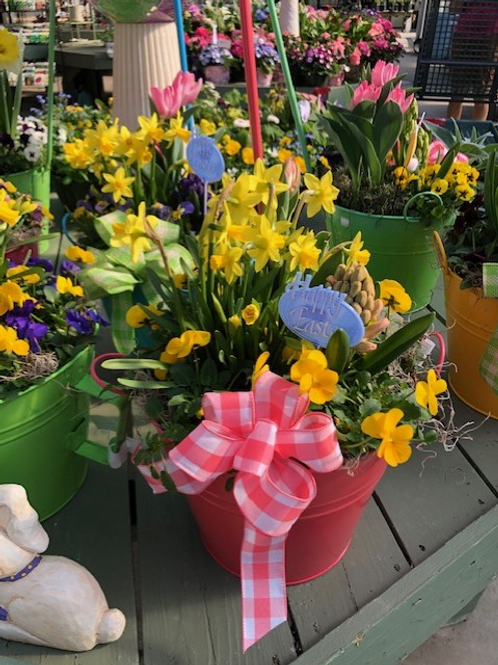 Easter Watering Can Planter
