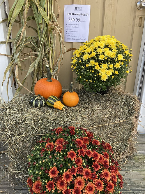 Fall Decorating Kit