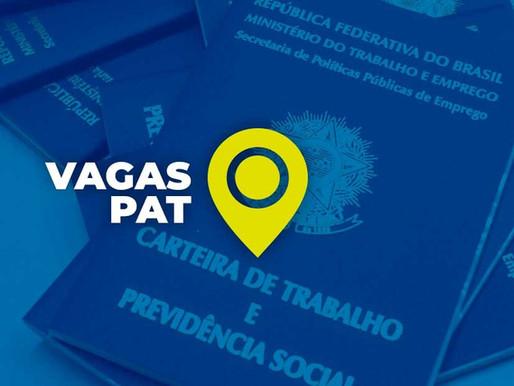 VAGAS DO PAT SALTO 18/08