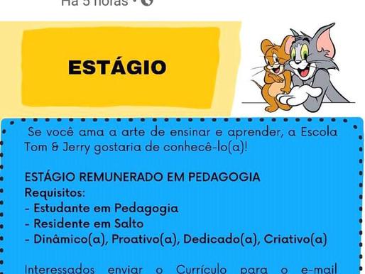Estágio em pedagogia