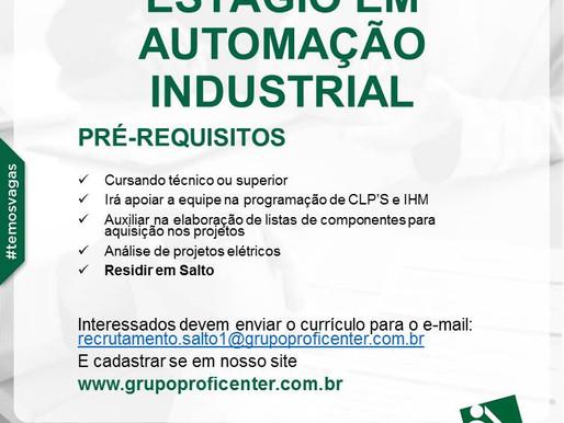 Estágio em Automação Industrial