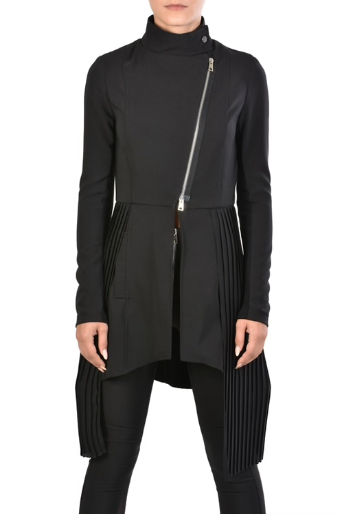 Techno-Stretch Duster Coat