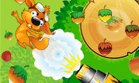 Squirrel Cannon Game Image