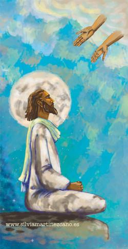 Cristo meditando