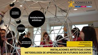 Instalaciones artísticas en la Ed. Artística