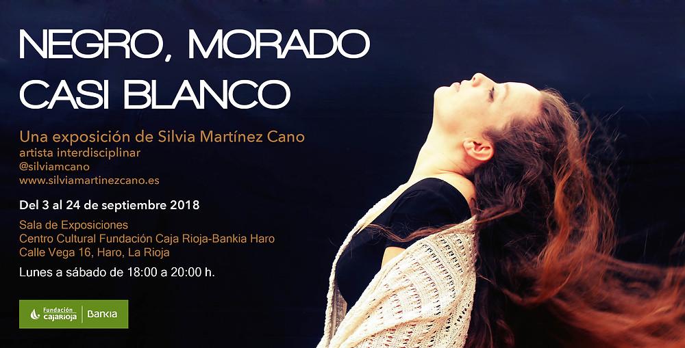 Negro, Morado, casi Blanco de Silvia Martínez Cano