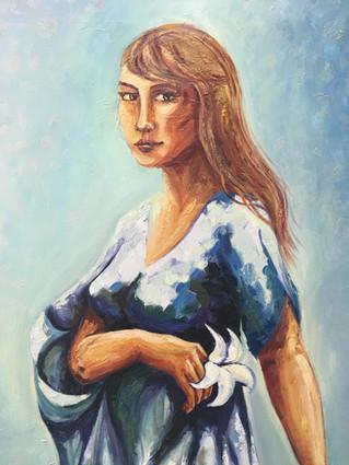 Participación en la investigación basada en las artes sobre imágenes de María.