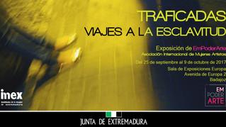 Exposición Traficadas en Badajoz