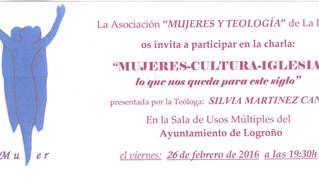 Conferencia: Mujeres, Cultura e Iglesia
