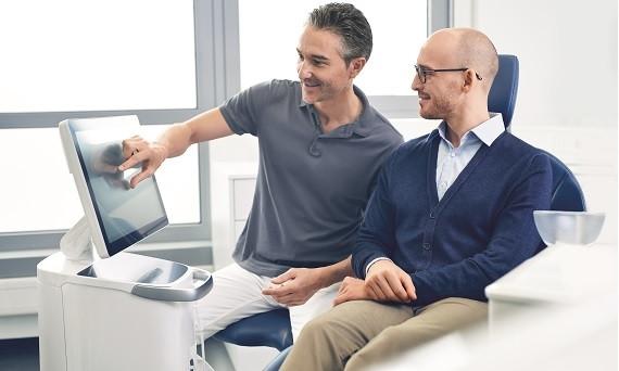 Primescan Chairside Dentistry, ενδοστοματικό scanner