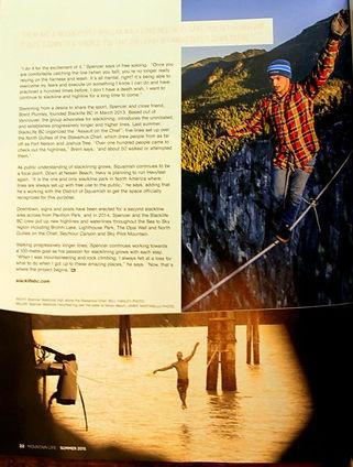 Vancouver, mountain life magazine, summer