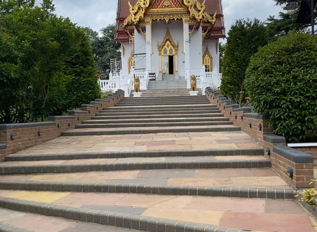 Buddhapadipa Temple a true Gem of peace and tranquillity...