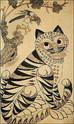 Chinese, Korean, and Japanese Tiger Art