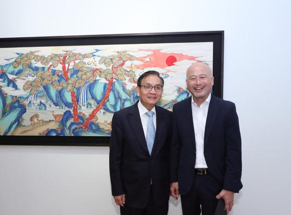 ambassador and chief of korean association