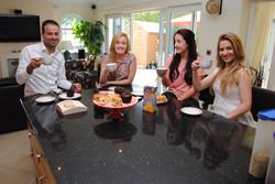 Host Family meal (1)