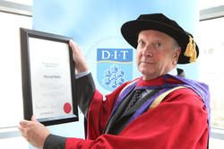 NEWS-Dr-Michael-Webb-pictured-with-his-parchment