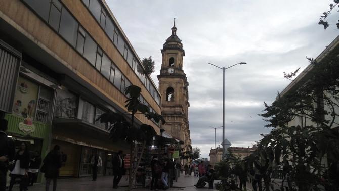 Vamos embora para Bogotá...