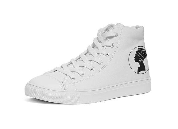 Queen Hightop Canvas Shoe