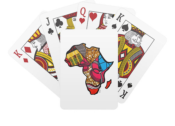 Africa -Classic Playing Cards