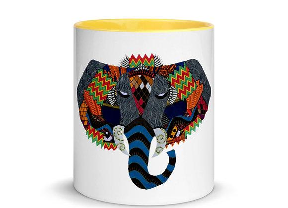 Njovu Ceramic Mug with Color Inside