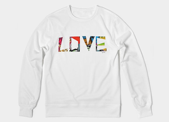Chitenge Love - Men's Crewneck Pullover