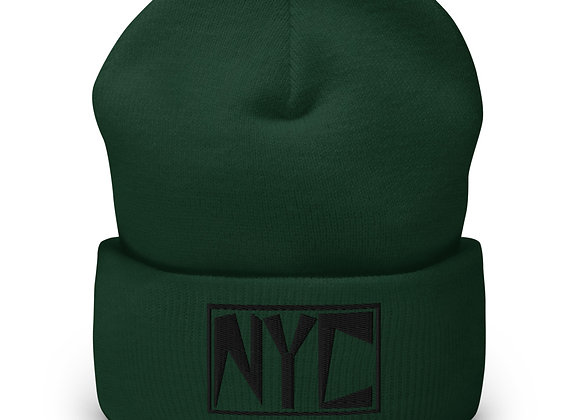 NYC-Cuffed Beanie