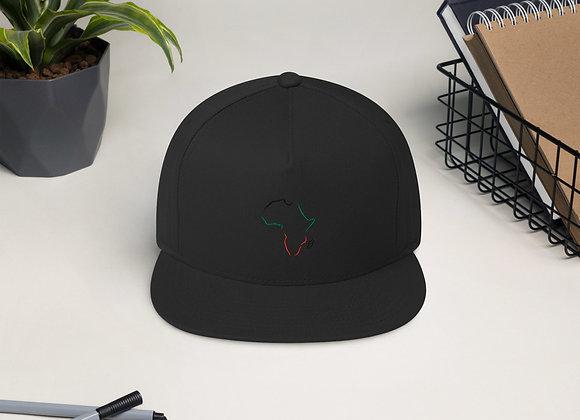 Africa Flat Bill Cap
