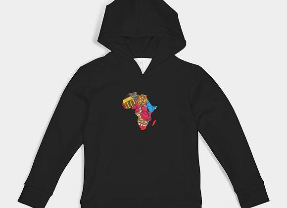 Africa- Kids Hoodie-Black