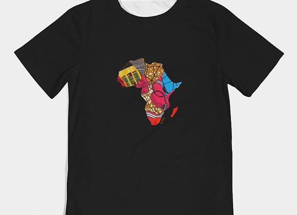 Chitenge Africa- Kids Tee Black