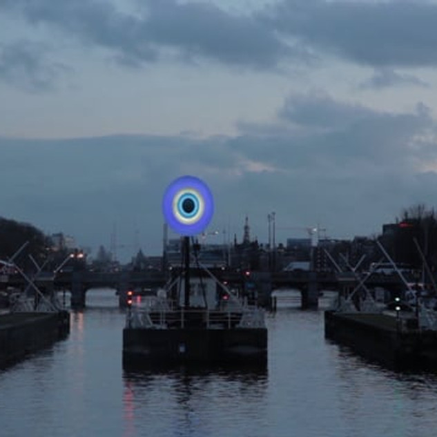 Eye to Eye | Amsterdam Light Festival