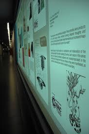 Exhibition poster in the Esplanade tunnel