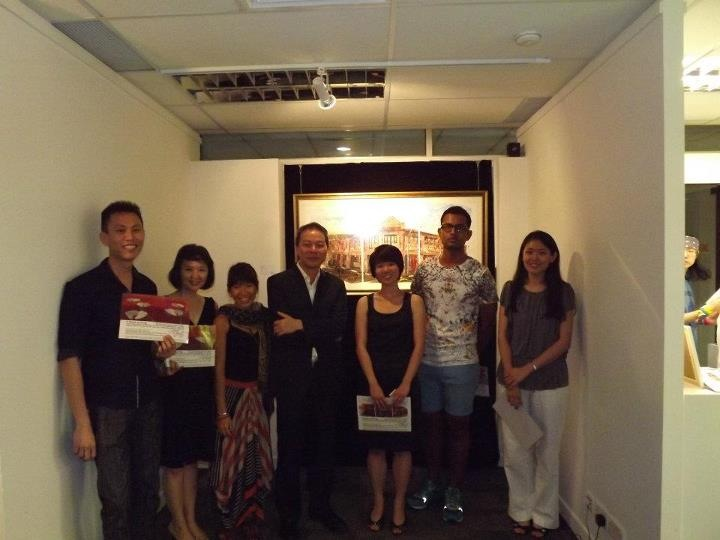 5 Stars Arising - Opening night, Artists and GOH, 2012