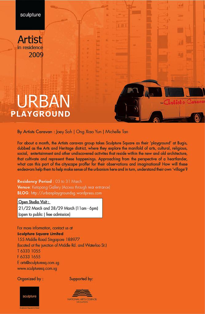Urban Playground invitation