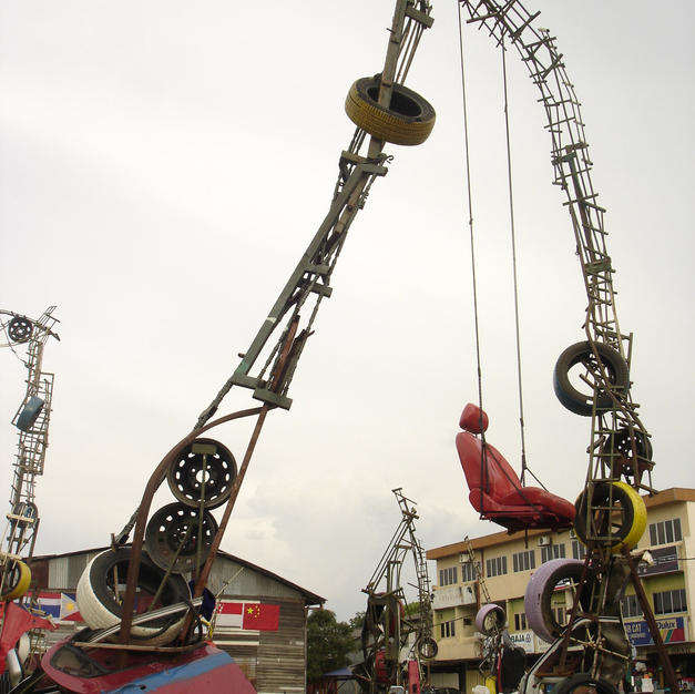 梦系列 (Dream Series): Playground- Installation view