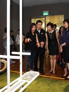 Sharing the work with former President of NAFA, Mr Choo Thiam Siew