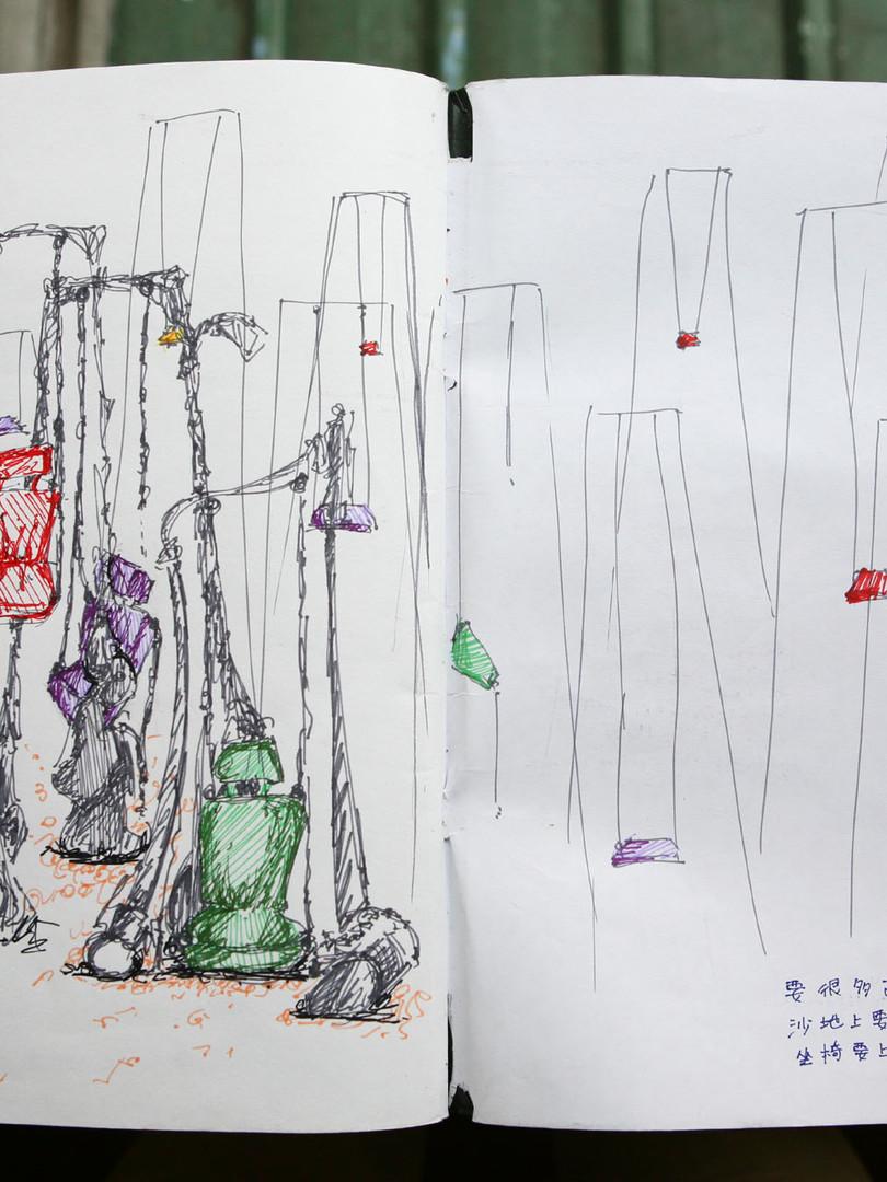梦系列 (Dream Series) - ideation sketch