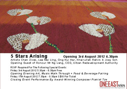 5 Stars Arising Exhibition Poster