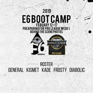 e6bootcamp+enigma6+e6cod+pro+league+week