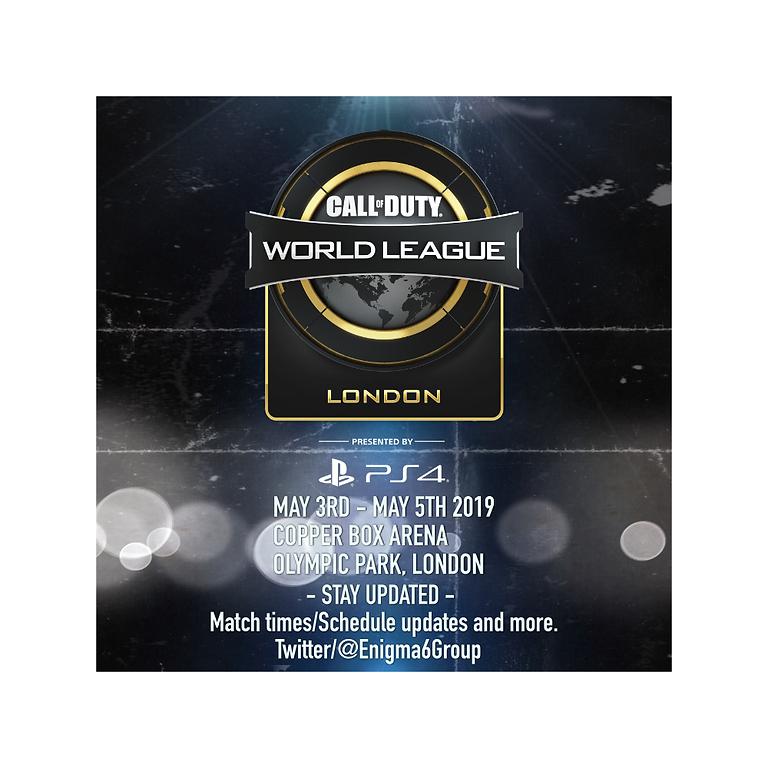 CWL London May 3RD - MAY 5TH 2019