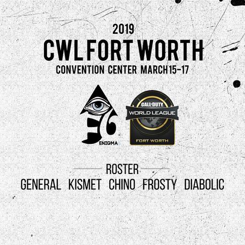 fortworth+cwl+e6+takes 5th place+e6cod+e