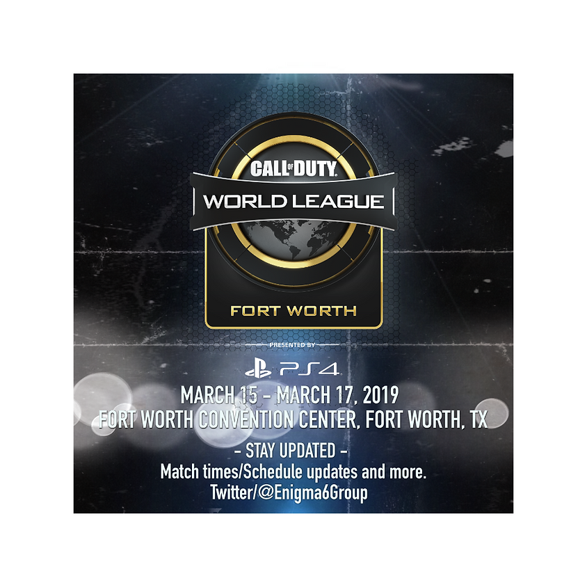 Call of Duty World League - Fort Worth, TX