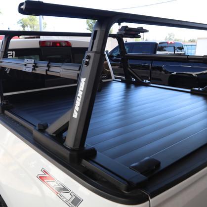 yakima truck bed rack retraxpro xr overh
